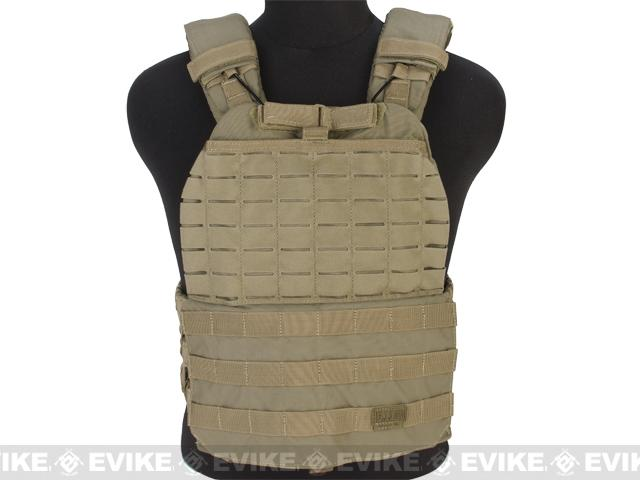 5.11 Tactical TacTec Plate Carrier (Color: Sandstone)