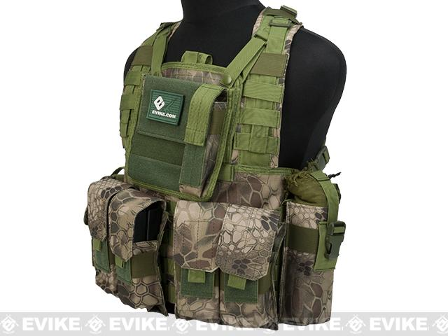 Matrix Special Operations RRV Style Chest Rig - Forest Serpent