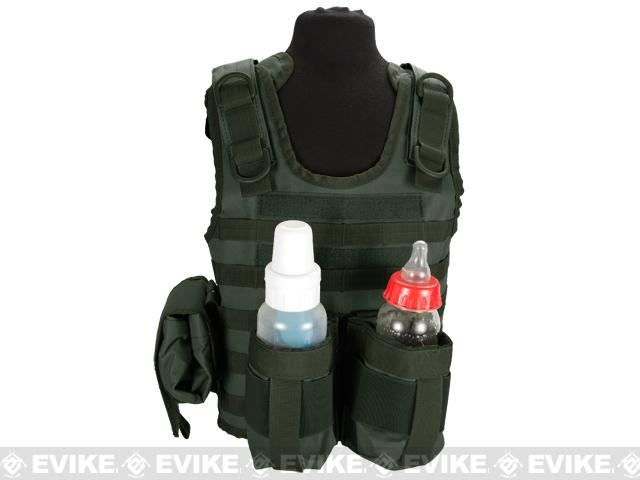 Matrix Tactical Systems Baby CIRAS Tactical Vest - OD Green