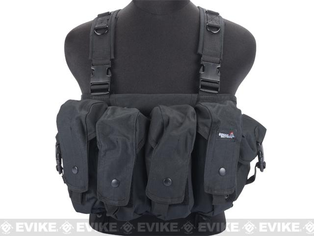 Lancer Tactical AK Chest Rig - Black