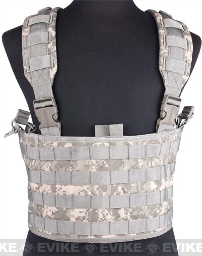 z Phantom Tactical MOLLE OPS High Speed Chest Rig - ACU