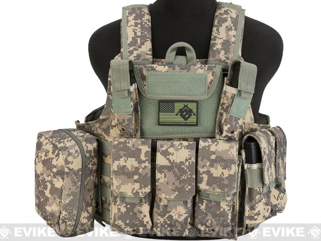 USMC Style C.I.R.A.S. Type Force Recon Tactical Vest (Color: ACU)