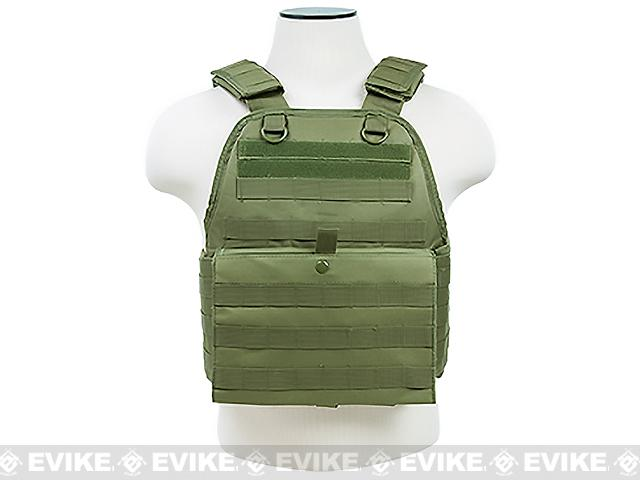 VISM / NcStar Tactical Plate Carrier - OD Green