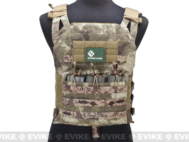 Avengers Compact Operator Airsoft High Speed JPC Plate Carrier - Arid Camo (X-Large)