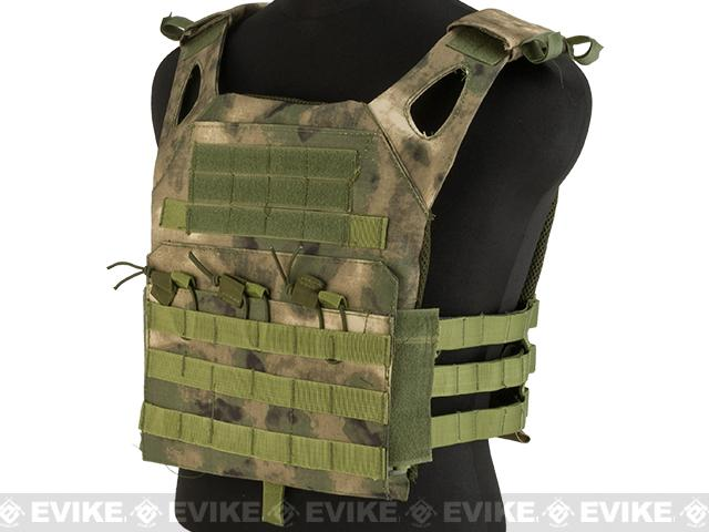 Matrix Compact Airsoft High Speed JPC Plate Carrier (Color: Arid Foliage / Kid Size)