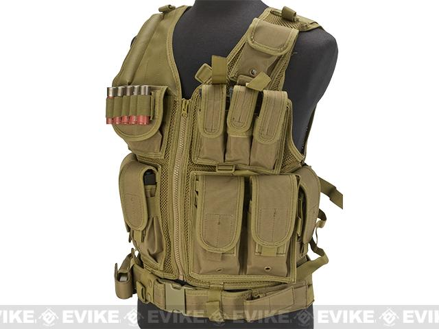 z Laylax Ghost Gear MPV Multi-Purpose Vest - Coyote