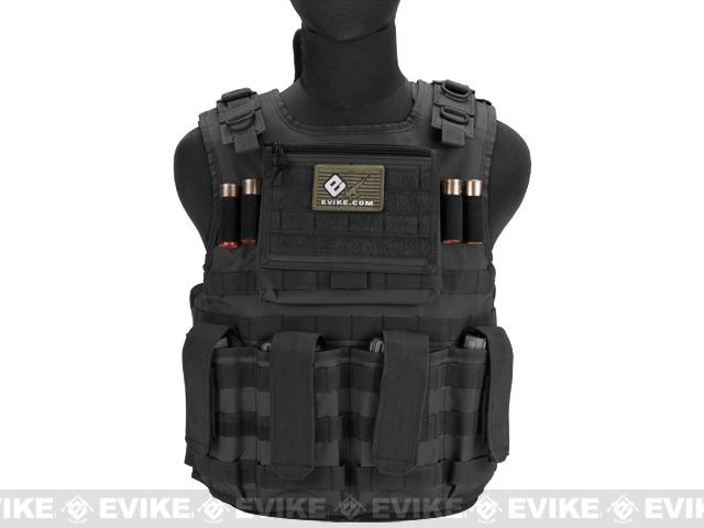 Matrix Tactical Systems Light Duo Strap Tactical Field Vest - Black