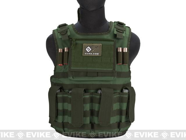 Matrix Tactical Systems Light Duo Strap Tactical Field Vest - OD Green