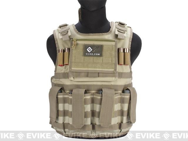 Matrix Tactical Systems Light Duo Strap Tactical Field Vest - Tan