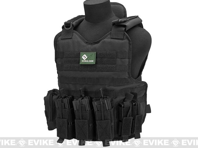 Matrix Light Brigade Tactical Vest - Black
