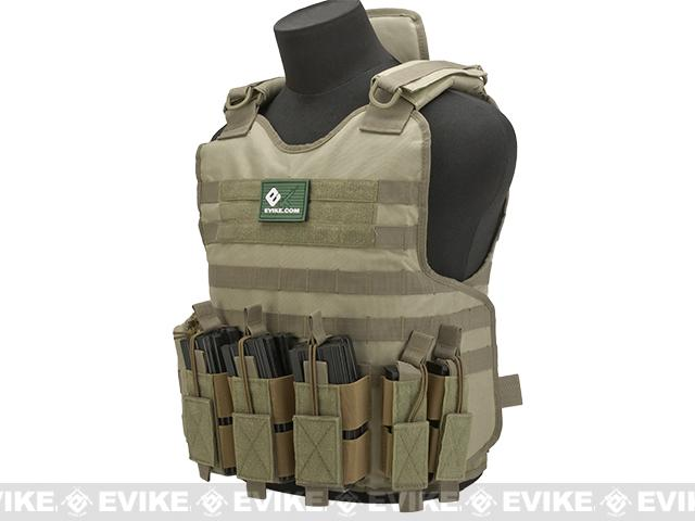 z Matrix Light Brigade Tactical Vest - Tan
