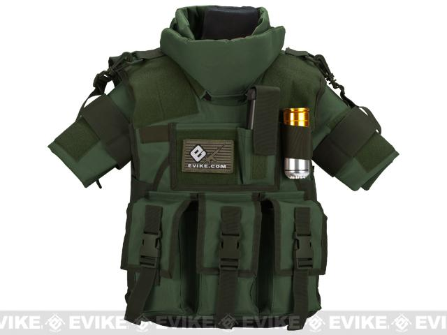 Pre-Order ETA March 2018 Matrix Tactical Systems High Speed SDEU Vest - Youth Size / OD Green