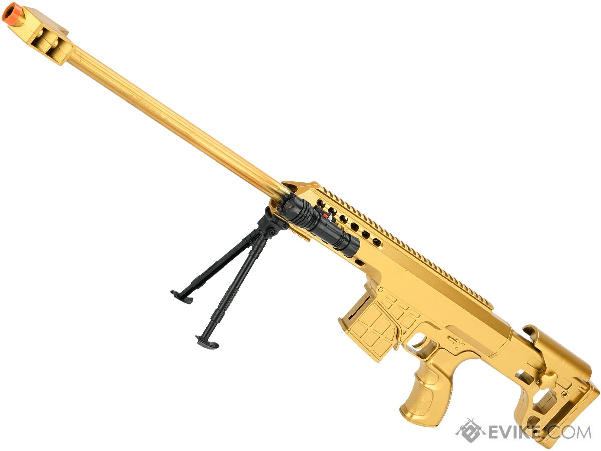 ASP C11 Mini Single Shot Spring Powered Airsoft Rifle (Color: Gold / 730mm)