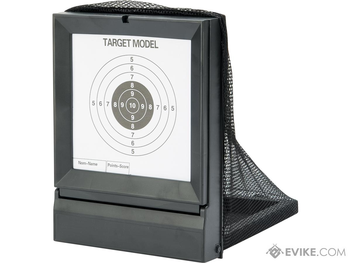 Airsoft Portable Shooting Target / BB Trap w/ Replaceable Target Paper
