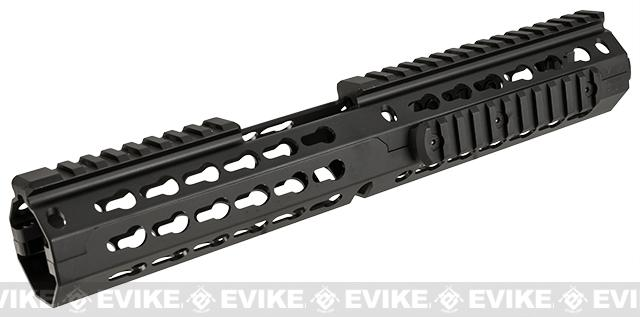 NcSTAR VISM 13 Extended Carbine Length Keymod Rail / Handguard for M4 / M16 / AR15 Rifles - Black