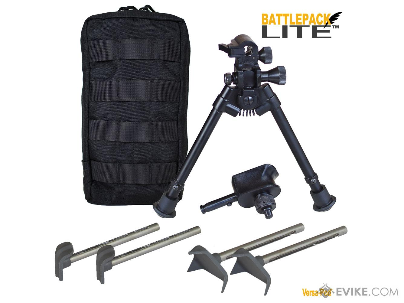 Versa-Pod® Tactical Bipod (Model: BattlePack LITE 50 Series - 9 to 12)