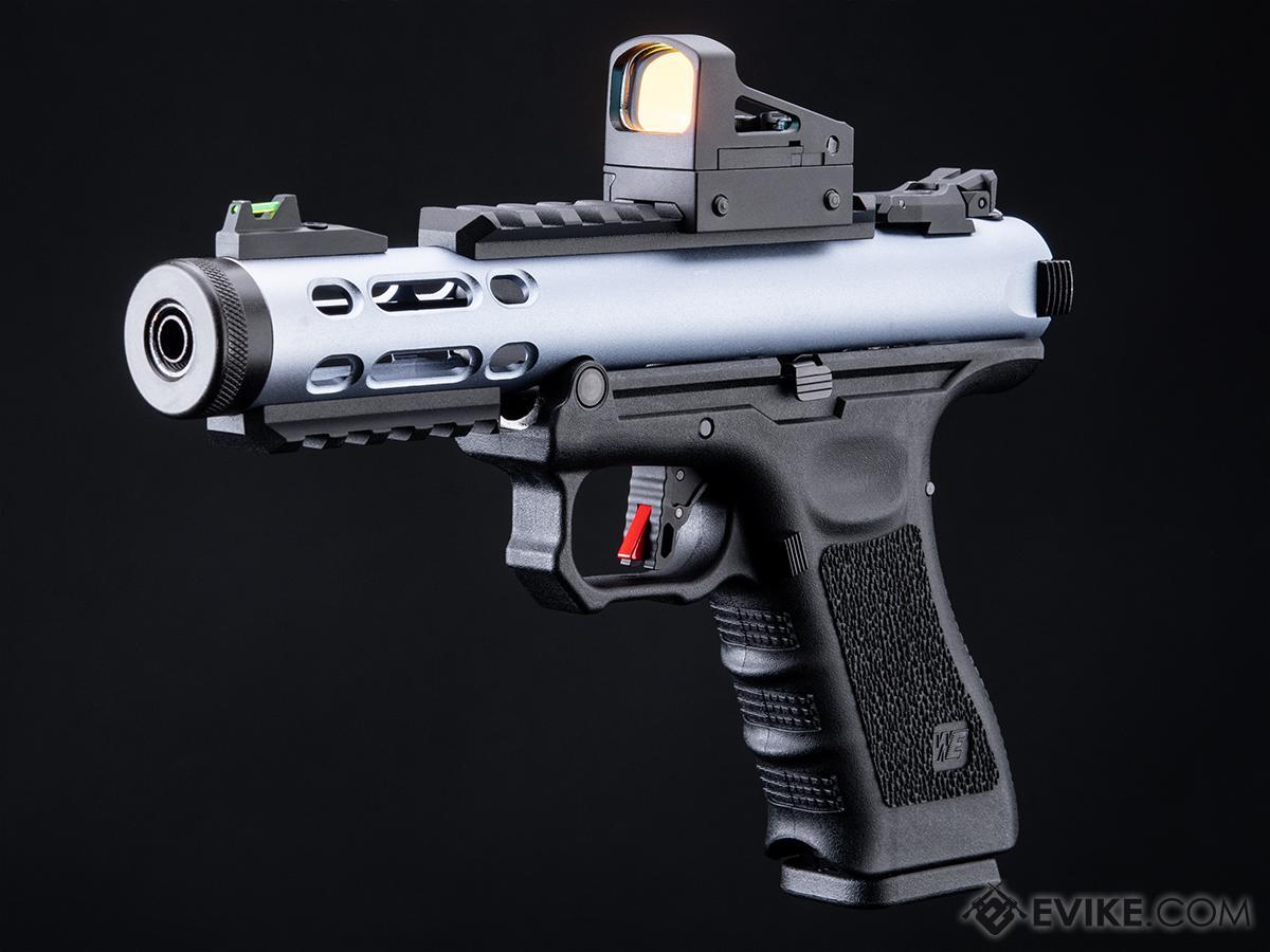 Pre-Order ETA February 2022 WE-Tech Galaxy Select-Fire Gas Blowback Airsoft Pistol (Color: Blue)