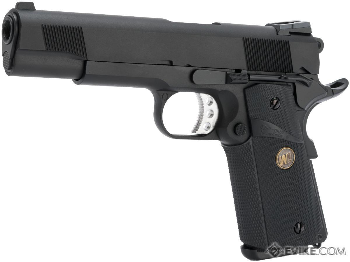 Pre-Order ETA March 2018 WE / CQB Master Metal 1911 MEU Gen. 2 Heavy Weight Airsoft GBB Pistol (Color: Black)