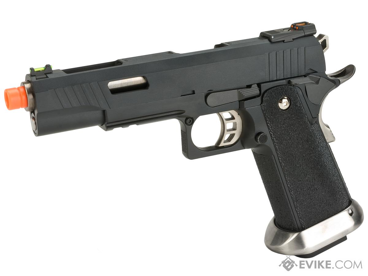 WE-Tech Hi-Capa 5.1 T-Rex Competition Pistol (Color: Black)