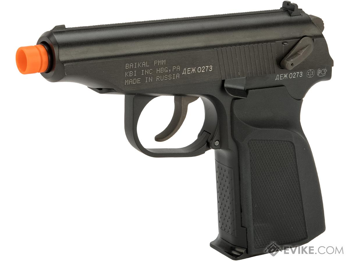 Pre-Order ETA March 2019 Baikal Licensed Makarov PMM Gas Blowback Pistol w/ Mock Suppressor by WE-Tech