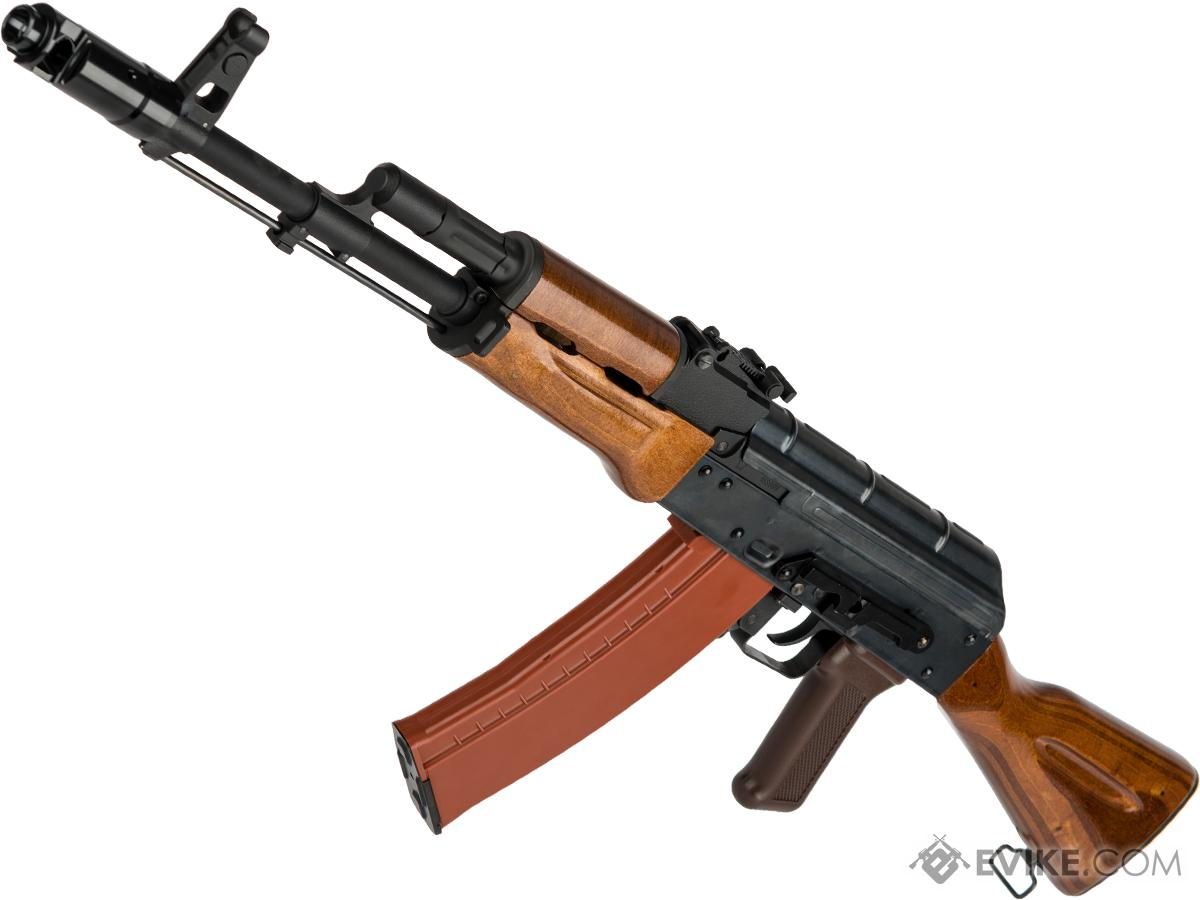WE-Tech AK-74 with Wood Furniture Airsoft Gas Blowback Rifle