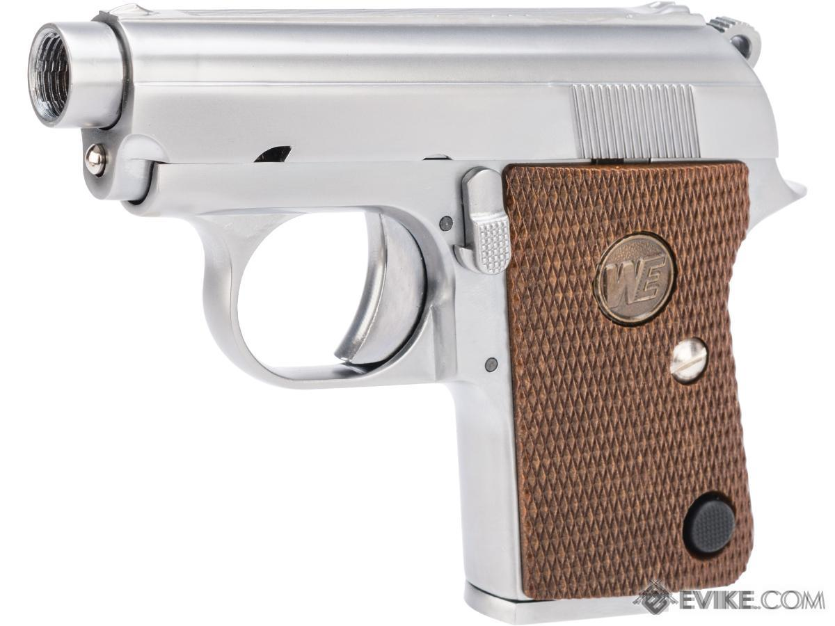 WE-Tech CT-25 Gas Blowback Airsoft Pocket Pistol (Color: Silver)