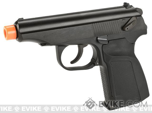 Pre-Order ETA April 2018 WE-Tech Makarov PMM Airsoft Gas Blowback GBB Pistol (Color: Black)