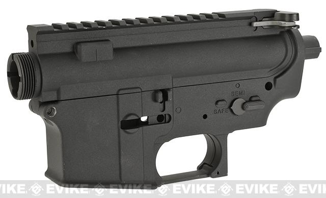 WE-Tech R5C Complete Receiver for M4 / M16 Series Airsoft AEG Rifles - Matte Black