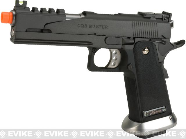 Pre-Order ETA March 2018 Phantom Custom WE USA CQB Master Alpha Airsoft GBB Gas Blowback Pistol w/ Two Mags - (Package: Pistol)