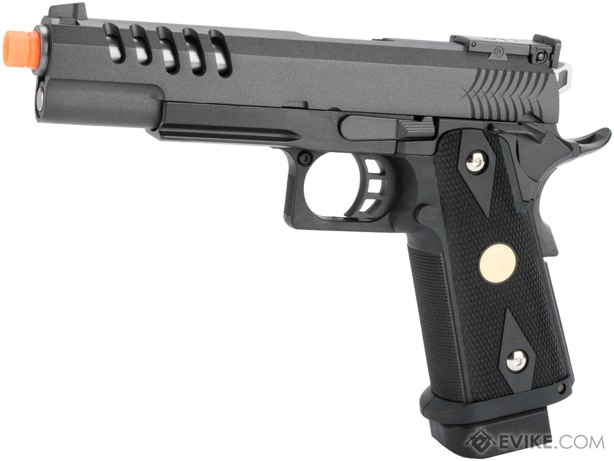 Pre-Order ETA August 2018 WE Metal Hi-CAPA 5.1 Hyper Speed Airsoft Gas Blowback Pistol w/ Threaded Barrel