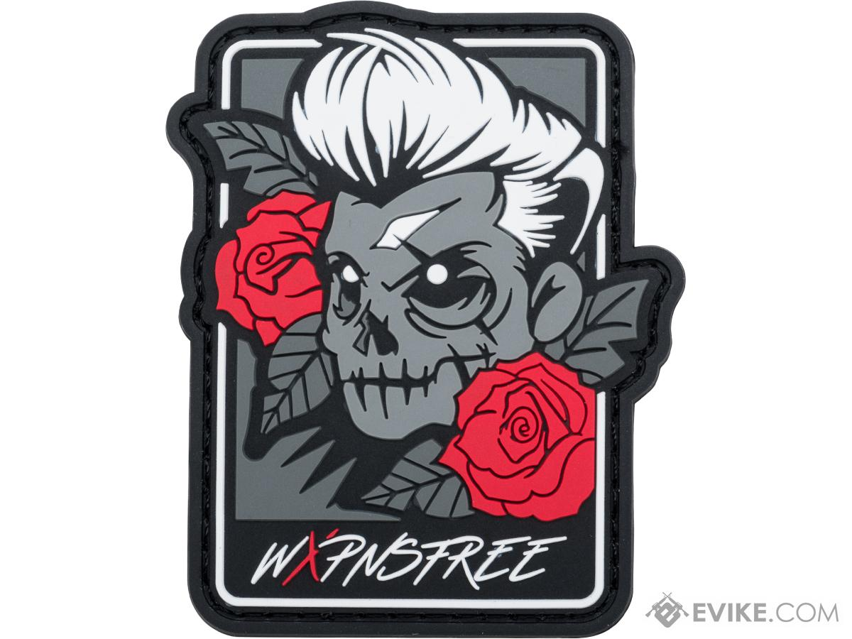 Weaponsfree.US Tacti-Skull Tactical PVC Morale Patch