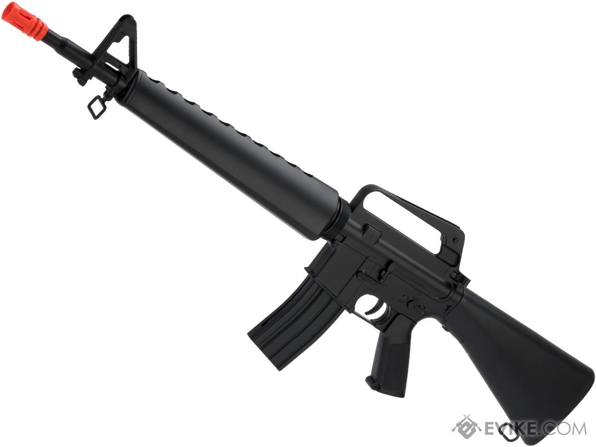 WELL Full Size M16A1 Airsoft Spring Rifle