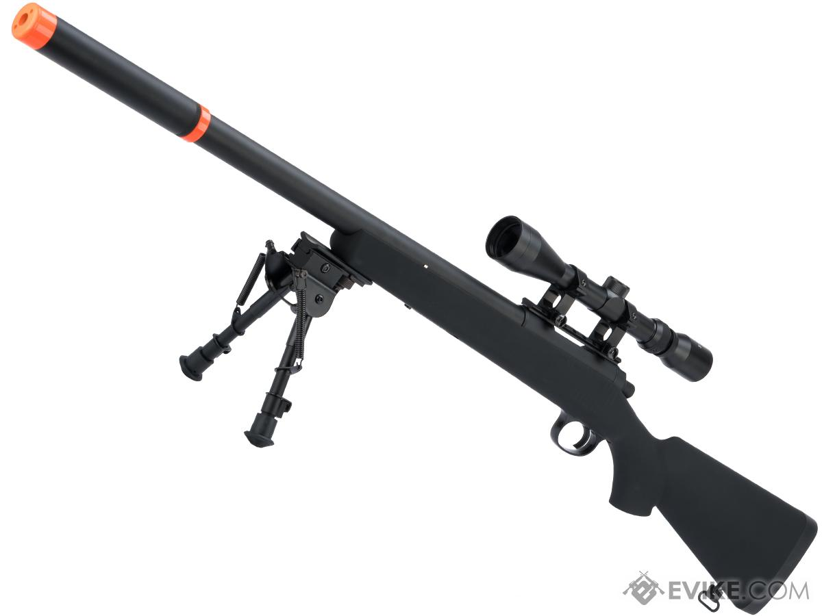 JG VSR-10 G-SPEC Marui Clone Airsoft Bolt Action Sniper Rifle w/ Metal Trigger Box (Package: Add 3-9x40 Scope)