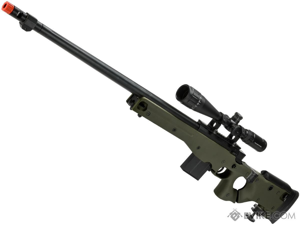 WELL L96 Bolt Action Airsoft Sniper Rifle w/ Folding Stock (Color: OD Green