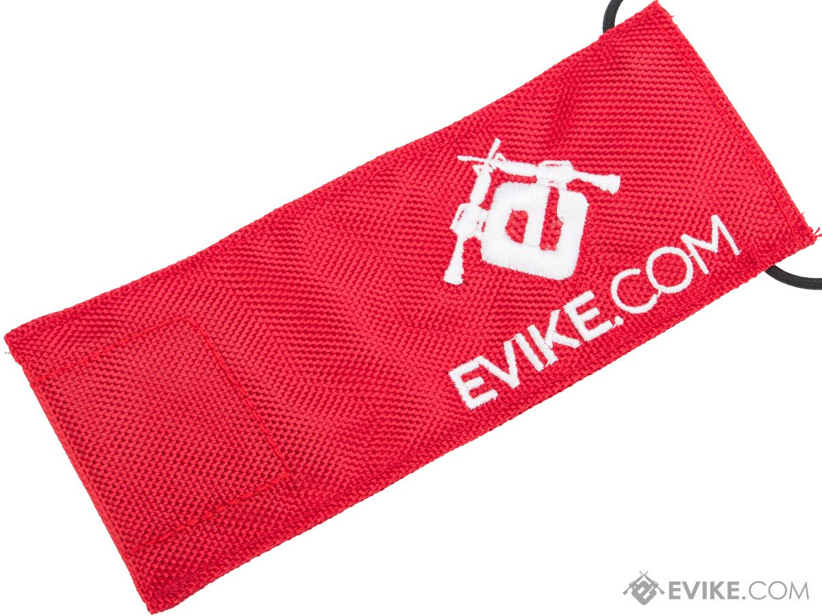 Evike.com Remove Before Pew Tactical Airsoft Barrel Cover (Color: Red / Large)