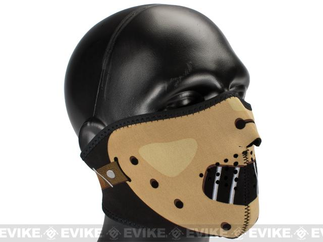 Zan Neoprene Half Face Mask - Hannibal