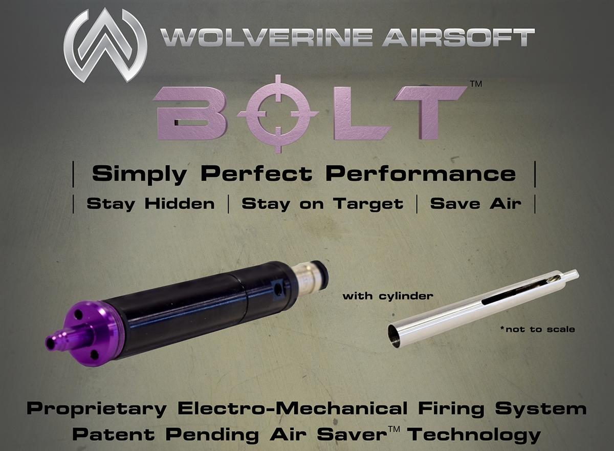 Wolverine Airsoft  BOLT HPA Conversion Kit for VSR-10 System Airsoft Sniper Rifles - Without Cylinder