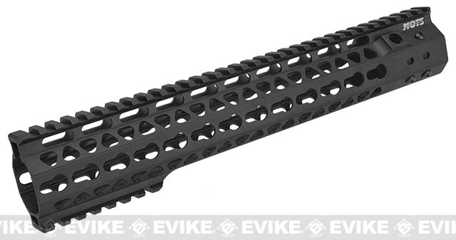 G&P MOTS 12.5 Keymod Rail System for G&P M4 / M16 Gas Blowback Airsoft Rifles (Color: Black)