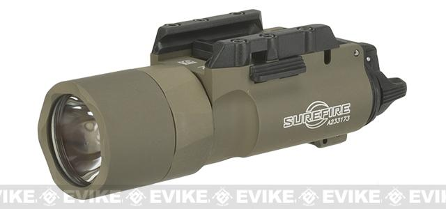 Surefire X-300 Ultra Weapon Mounted Light - Tan (500 Lumens)