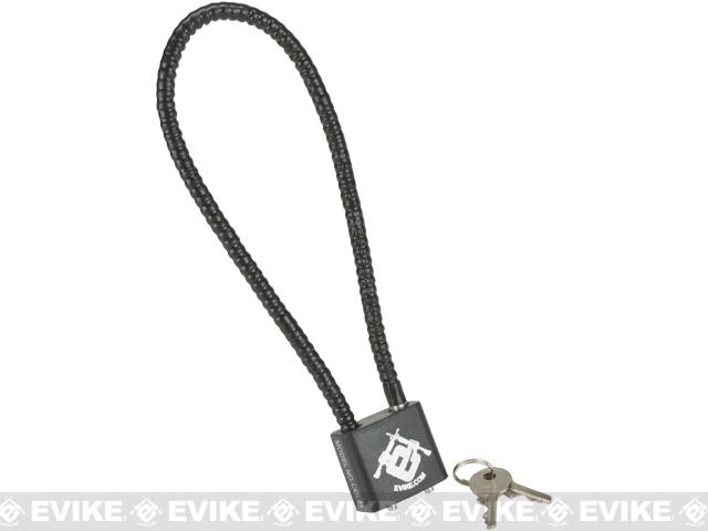 Evike.com Sidewinder 14 DOJ Approved Cable Gun Case Lock