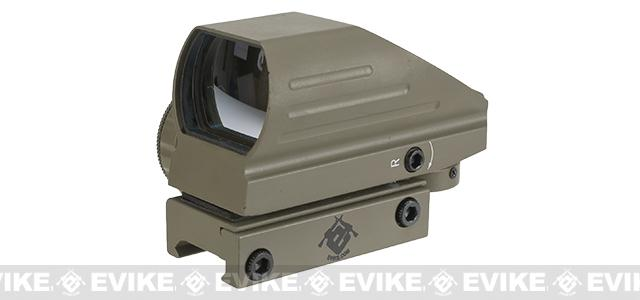 Evike Red/Green Dot with Warfare Reticles - Tan