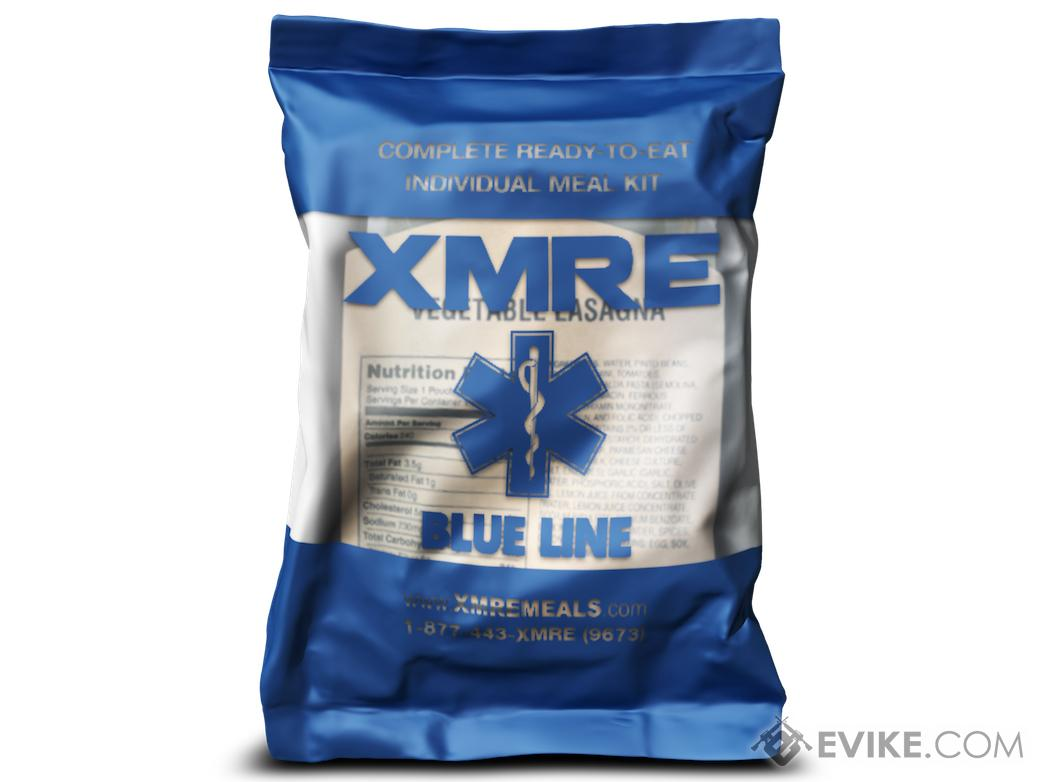 XMRE Blue Line Meal Ready to Eat Single Meal (Menu: Vegetarian Taco Pasta)