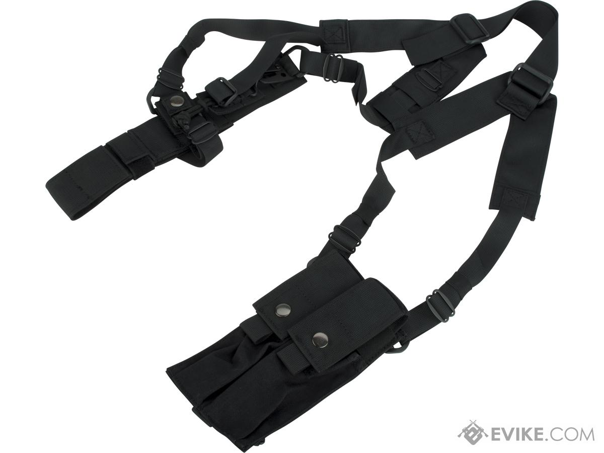Matrix Machine Pistol Shoulder Holster Rig with Magazine Pouches