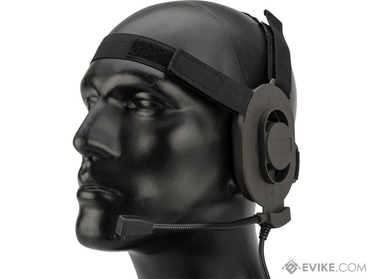 Emerson Archer Elite II Tactical Communication Headset (Color: Black)