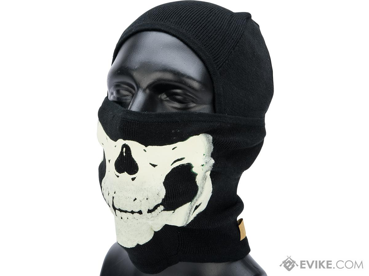 EmersonGear Tactical Ghost Cold Weather Balaclava for Kids (Color: Black)