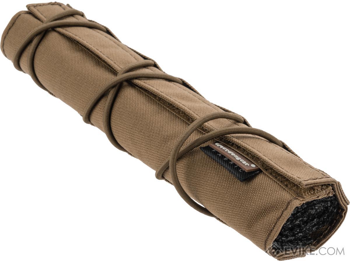 EmersonGear Cordura 22cm Airsoft Suppressor Cover (Color: Coyote Brown)