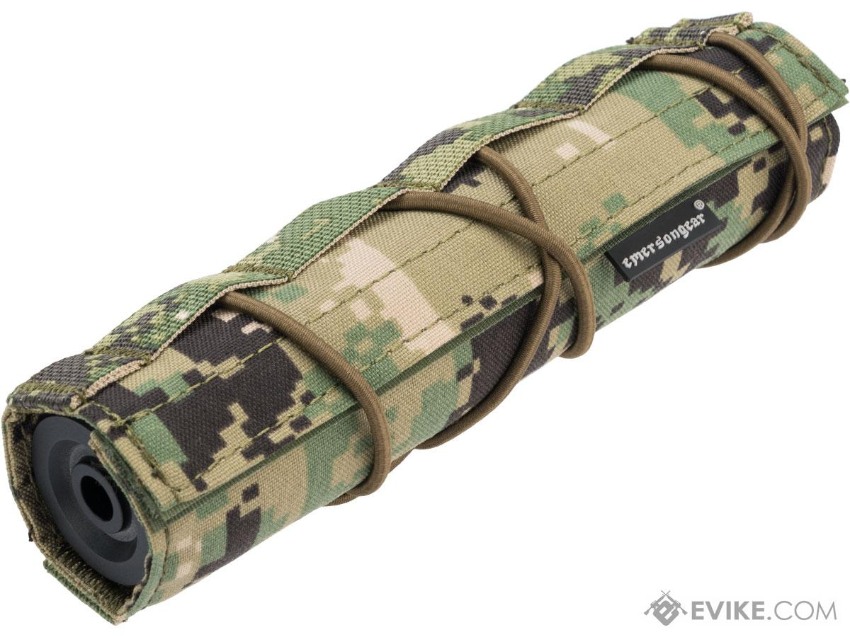 EmersonGear Cordura 18cm / 7 Airsoft Suppressor Cover (Color: AOR2)