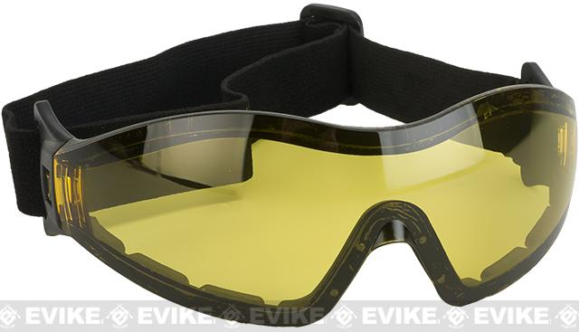 Global Vision Z-33 ANSI Z87.1 Rated Anti-Fog Safety Shooting Goggle - High Contrast Lens