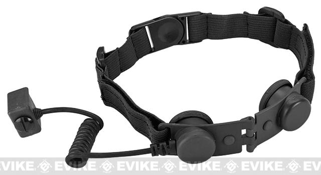 Element Z-Tactical Throat Mic Adapter (for Z029 Headset) - Black