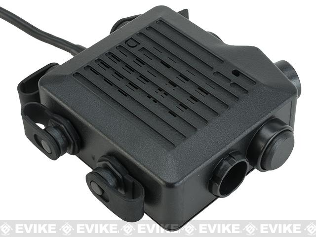 Z-Tactical TACMIC CT5 Intercom Radio PTT - (Connector: ICOM)